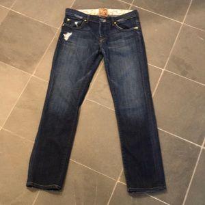 Rich & Skinny Distressed Jeans sz 28